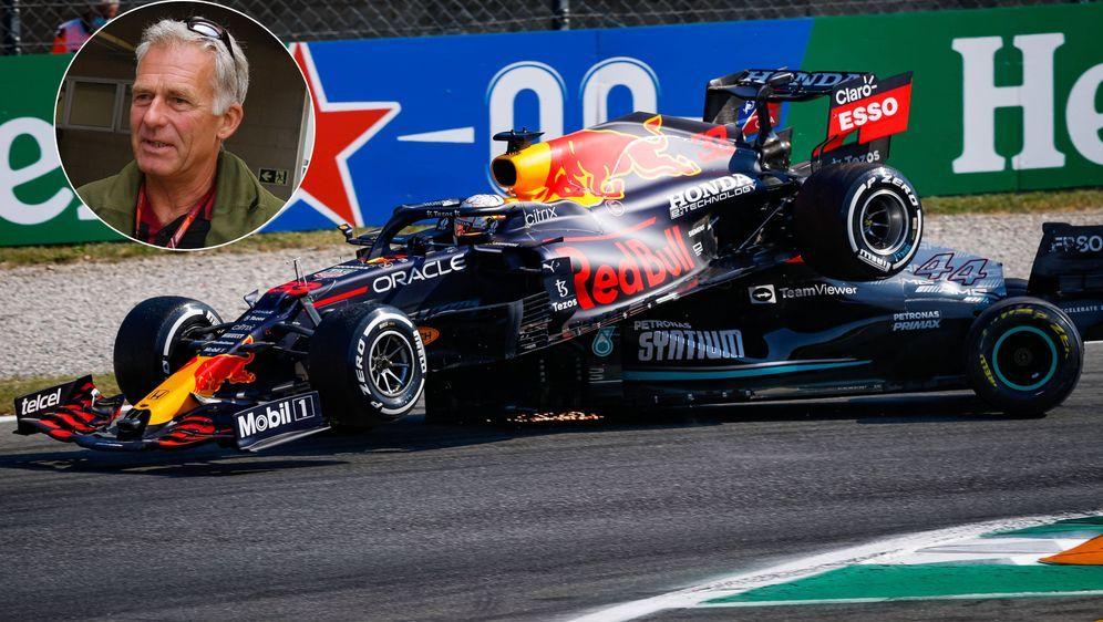 Christian Danner sieht die Schuld bei Max Verstappen. - Bildquelle: Imago Images