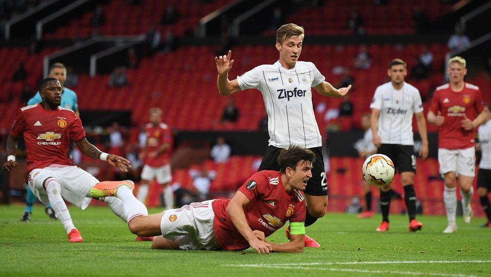 Manchester United hat gegen den LASK mehr Mühe als noch im Hinspiel. - Bildquelle: 2020 Getty Images