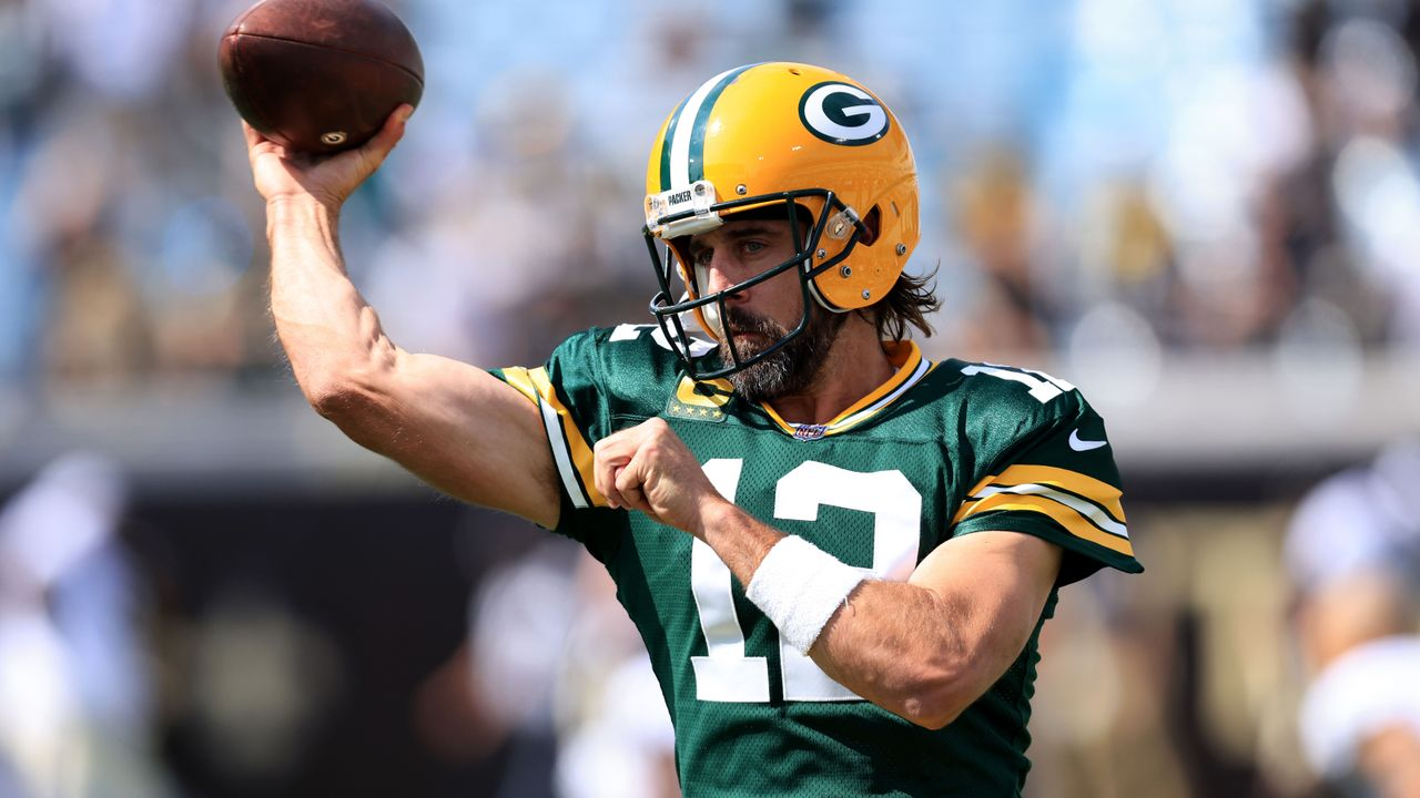Quarterback: Aaron Rodgers (Green Bay Packers) - Bildquelle: 2021 Getty Images