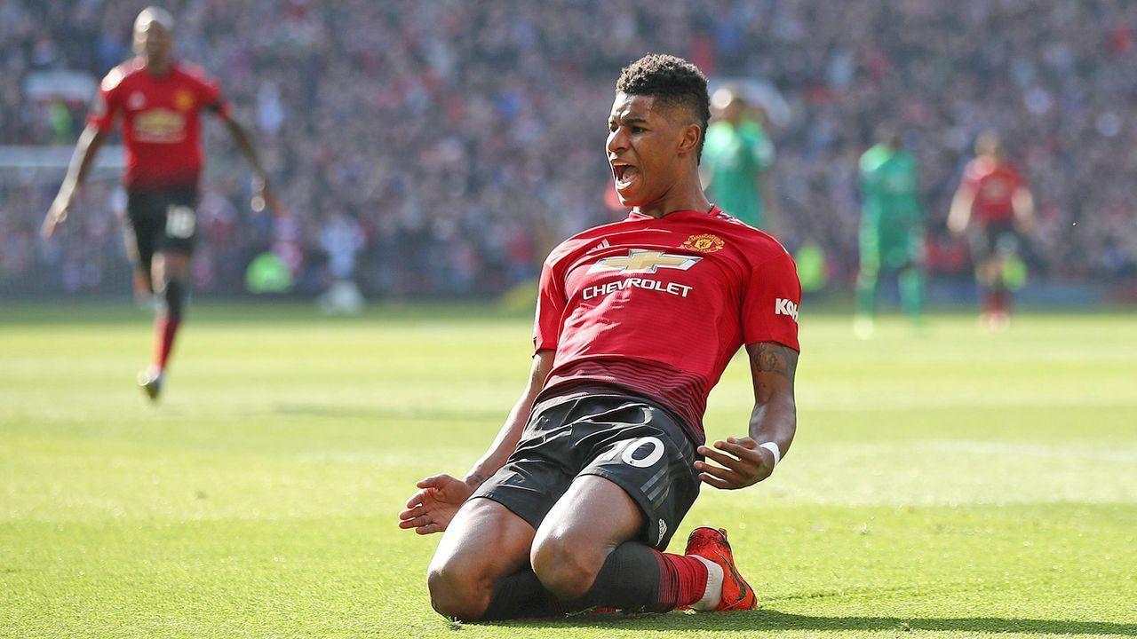 Marcus Rashford (Manchester United) - Bildquelle: imago