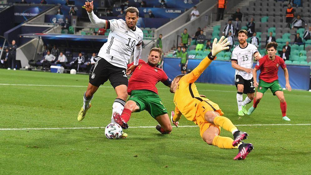 Viermal war Lukas Nmecha bei der U21-EM erfolgreich - Bildquelle: AFPSIDATTILA KISBENEDEK