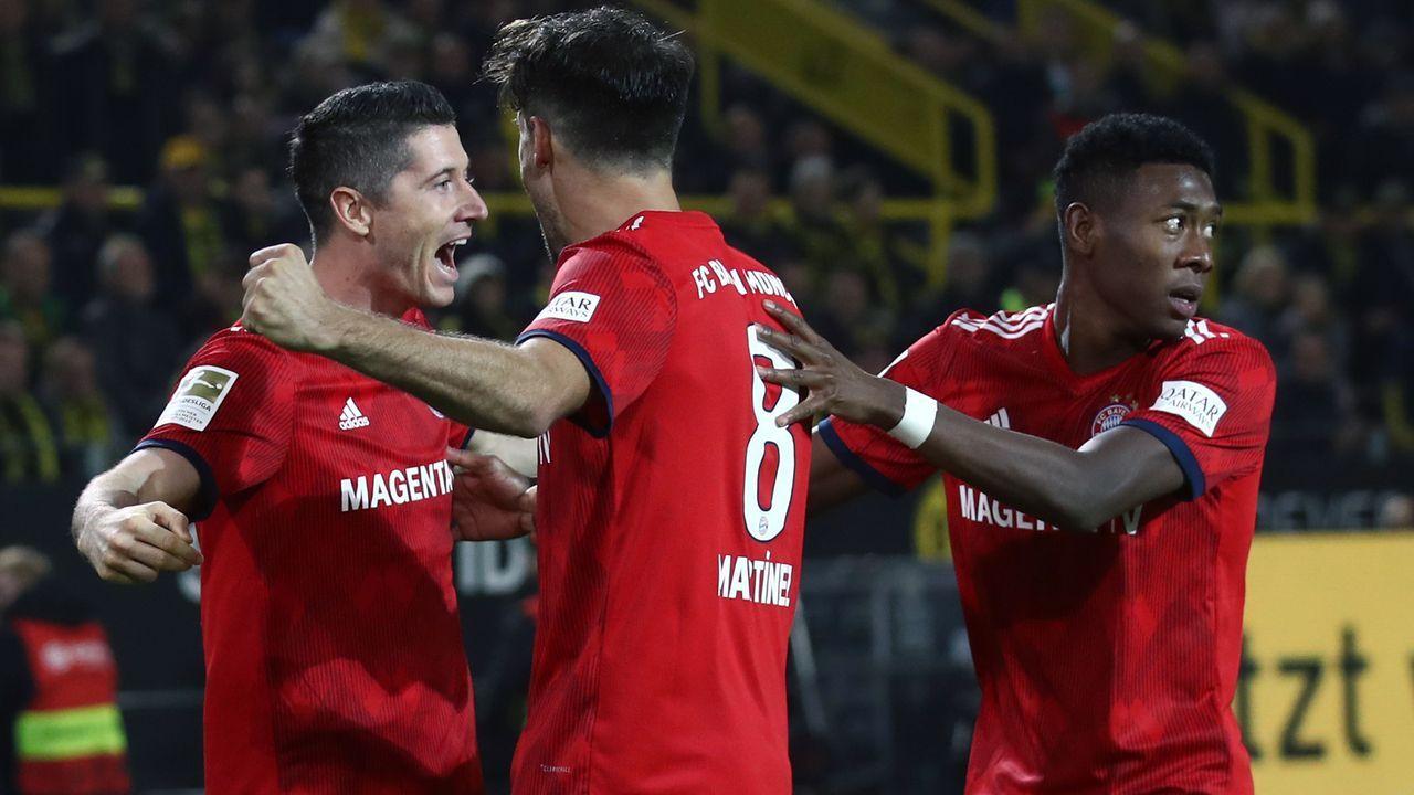 Platz 1 - FC Bayern München - Bildquelle: 2018 Getty Images