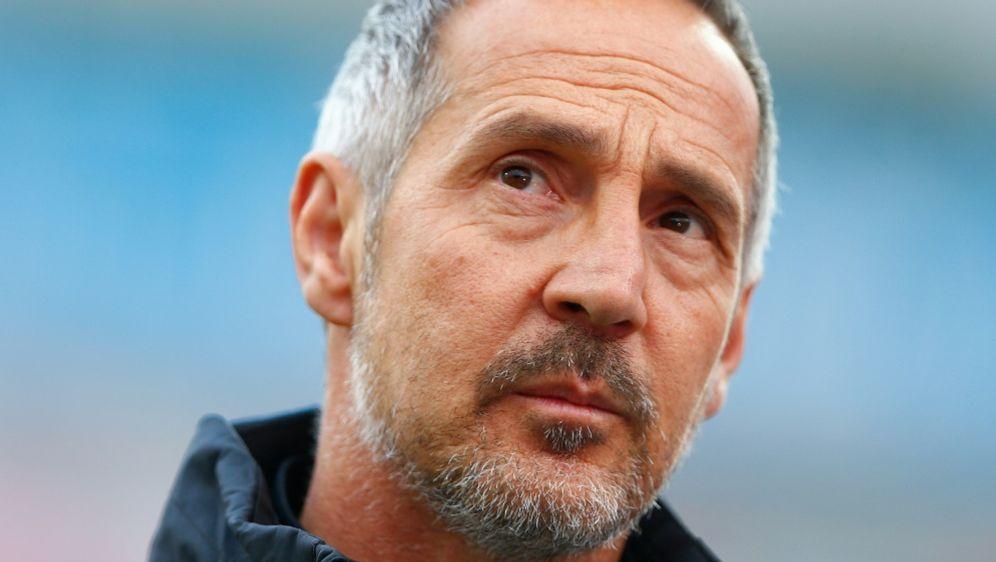 Adi Hütter hat die Sperre für Arnautovic kritisiert - Bildquelle: AFPPOOLSIDTHILO SCHMUELGEN