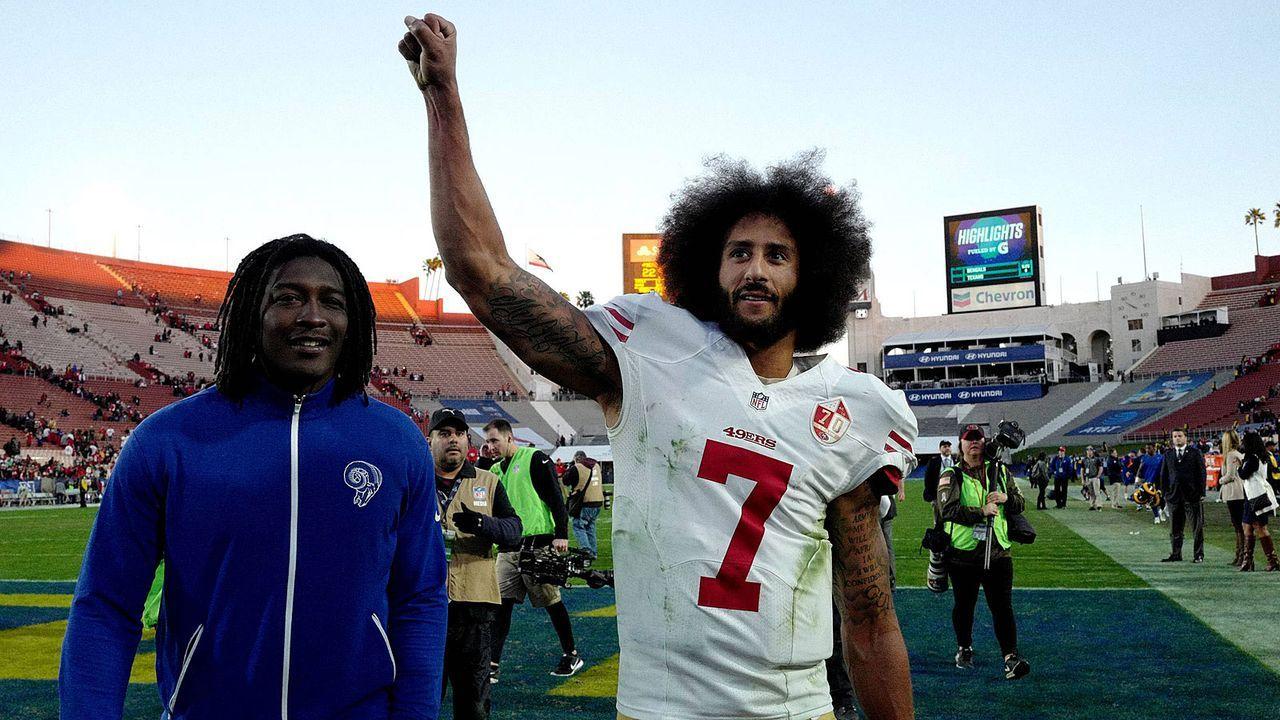 Für diese NFL-Klubs könnte Kaepernick interessant werden - Bildquelle: imago/ZUMA Press