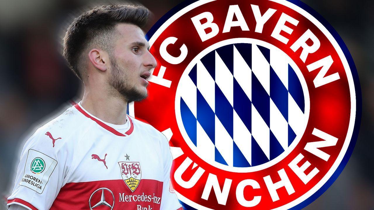 Leon Dajaku (FC Bayern München) - Bildquelle: Getty