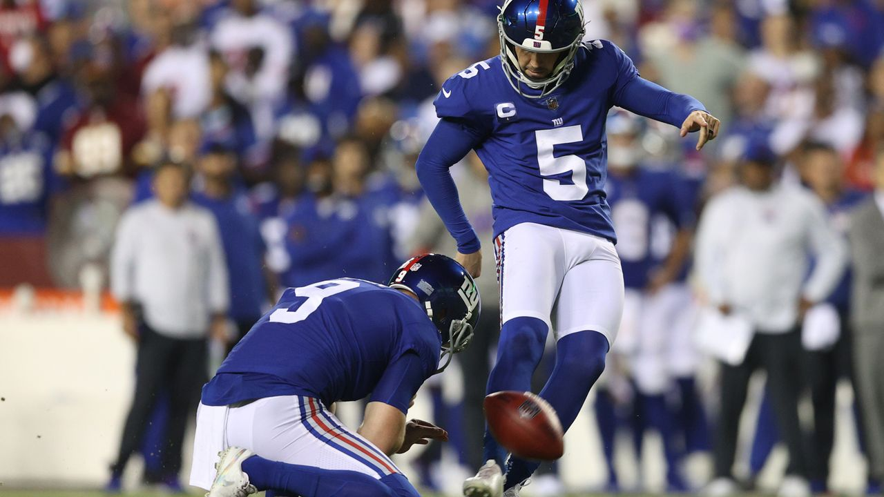 Special Teams und Kicker: New York Giants - Bildquelle: 2021 Getty Images