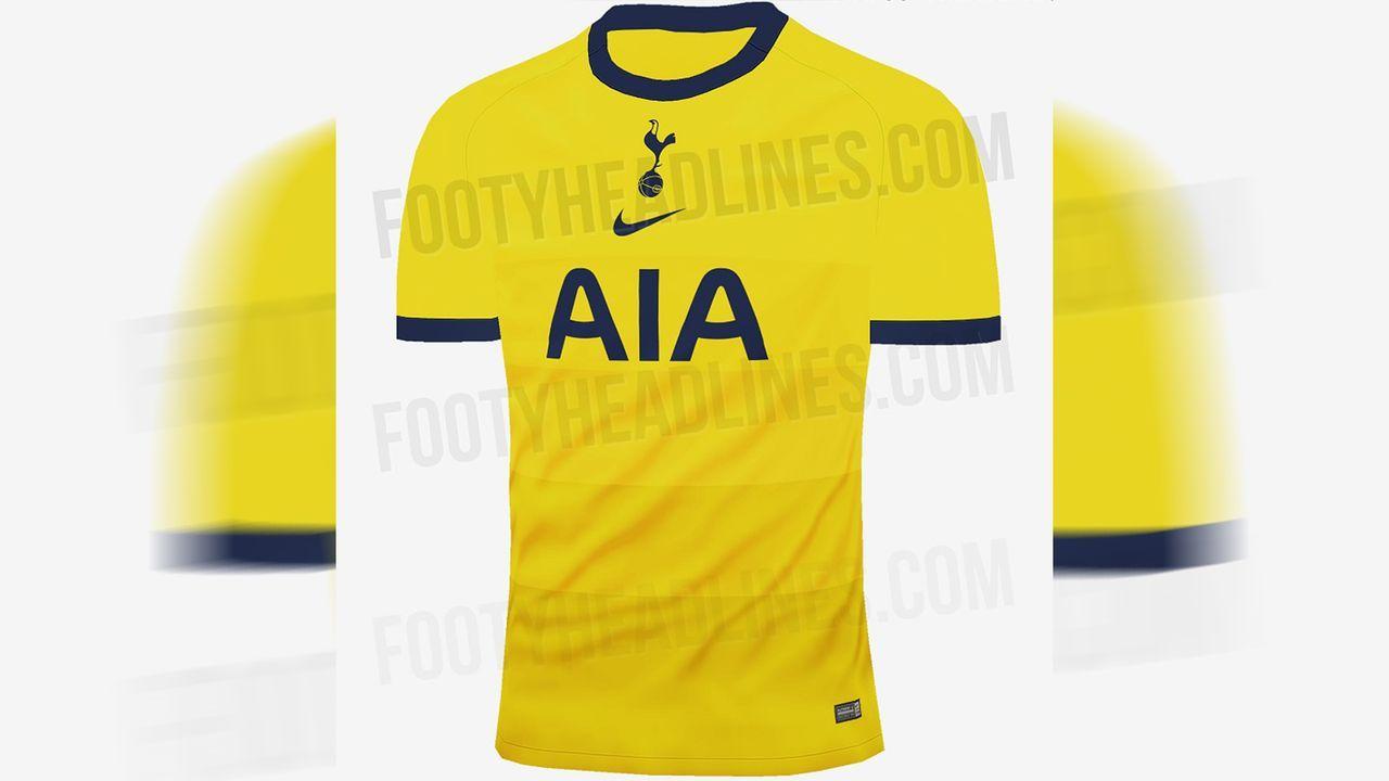 Tottenham Hotspur (drittes Trikot) - Bildquelle: twitter@Footy_Headlines