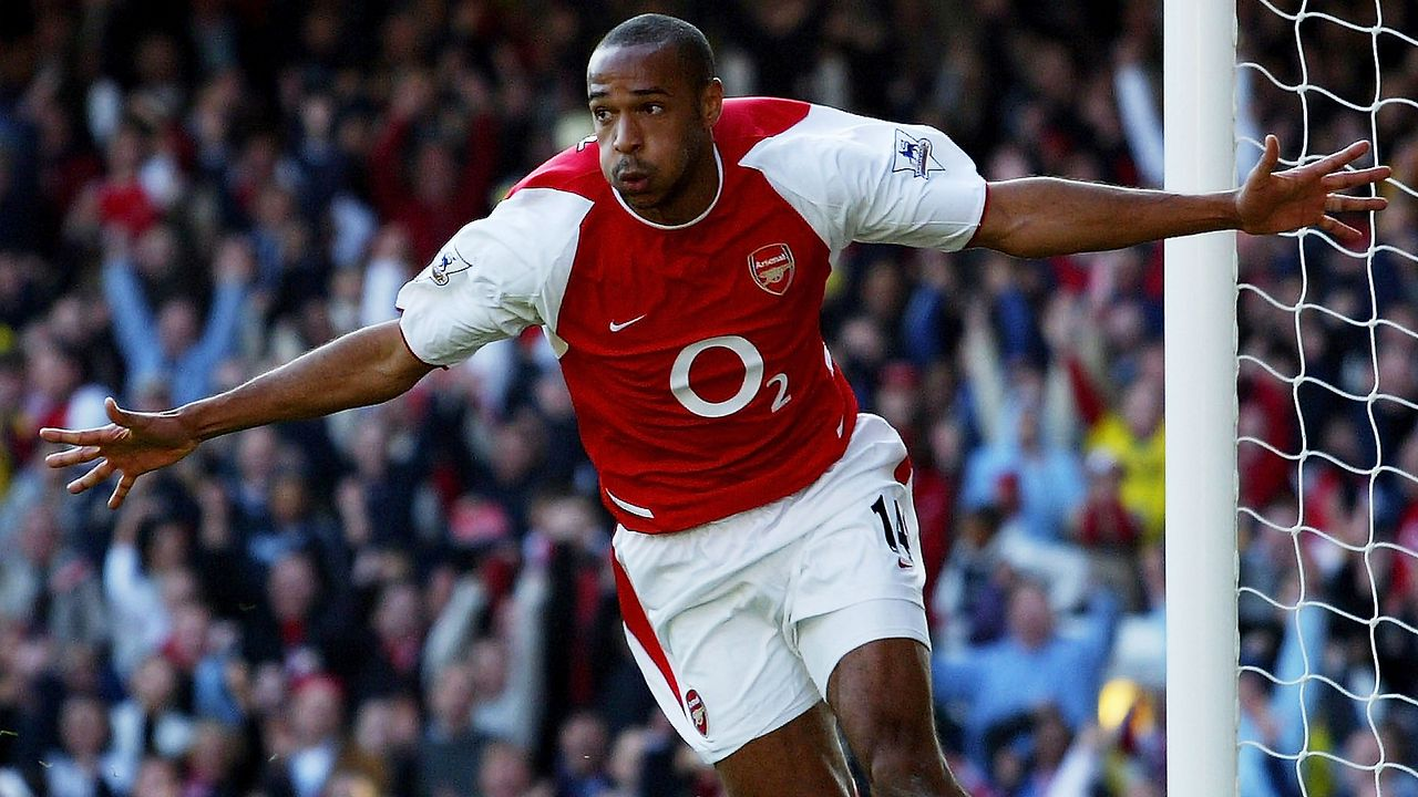 Thierry Henry (FC Arsenal) - Bildquelle: 2003 Getty Images