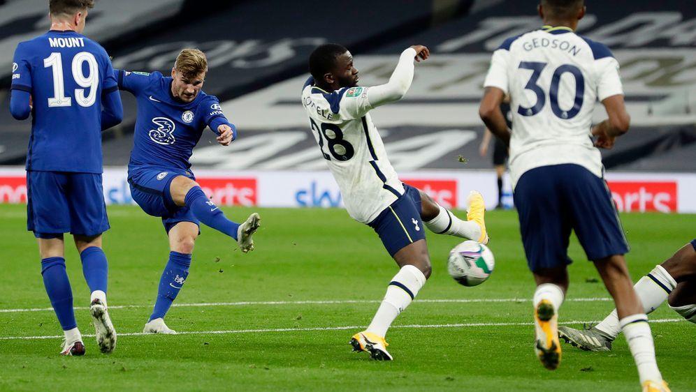 Die Tottenham Hotspurs empfangen den FC Chelsea in der 4. Runde des Carabao ... - Bildquelle: Getty Images