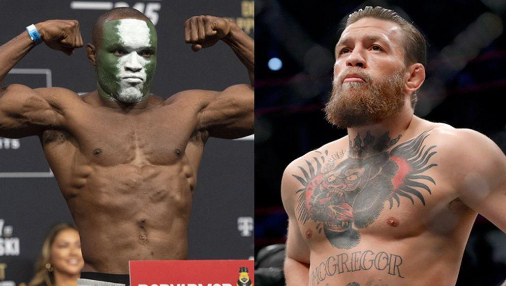 Conor McGregor und Kamaru Usman: Titelkampf im Weltergewicht?