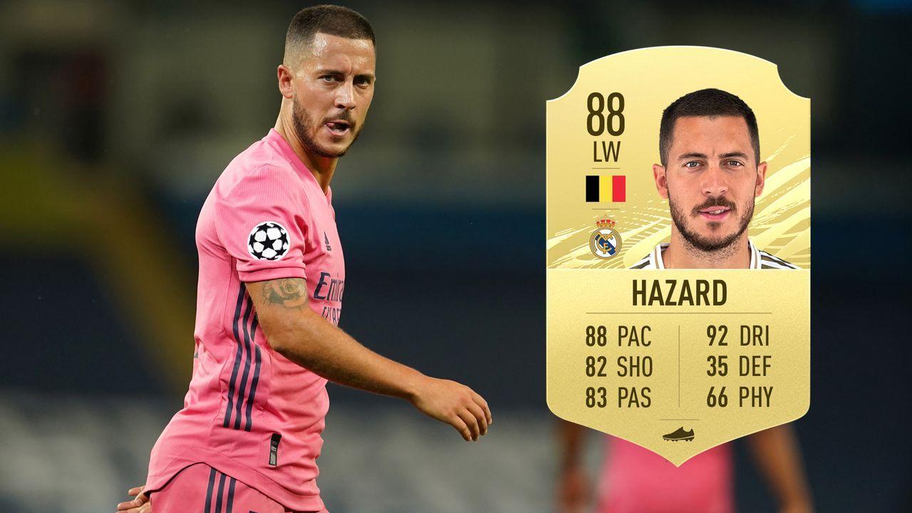 Eden Hazard (Real Madrid/Belgien) - Bildquelle: 2020 Pool/EA Sports