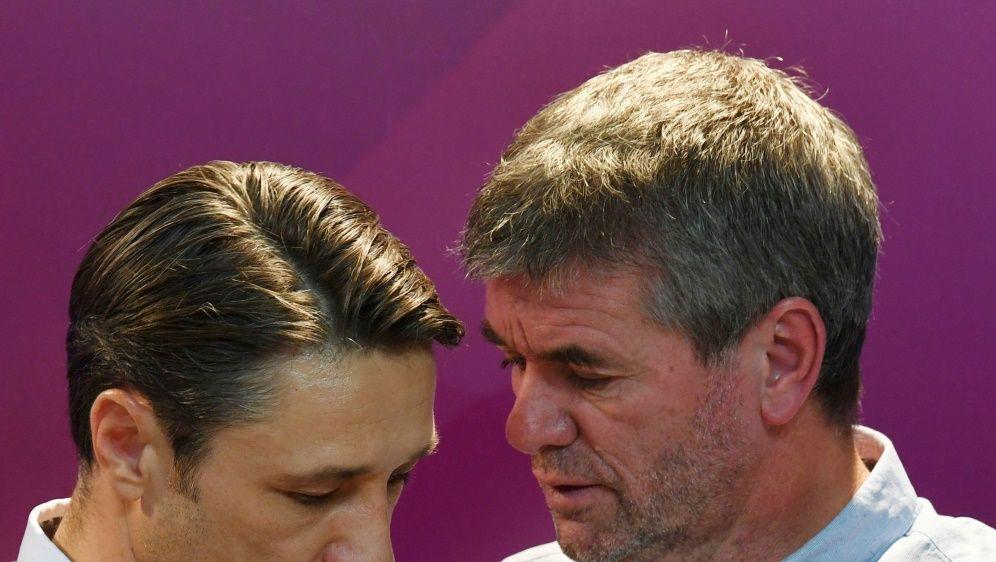Funkel lobt Kovac vor dem Aufeinandertreffen am Sonntag - Bildquelle: AFPSIDCHRISTOF STACHE