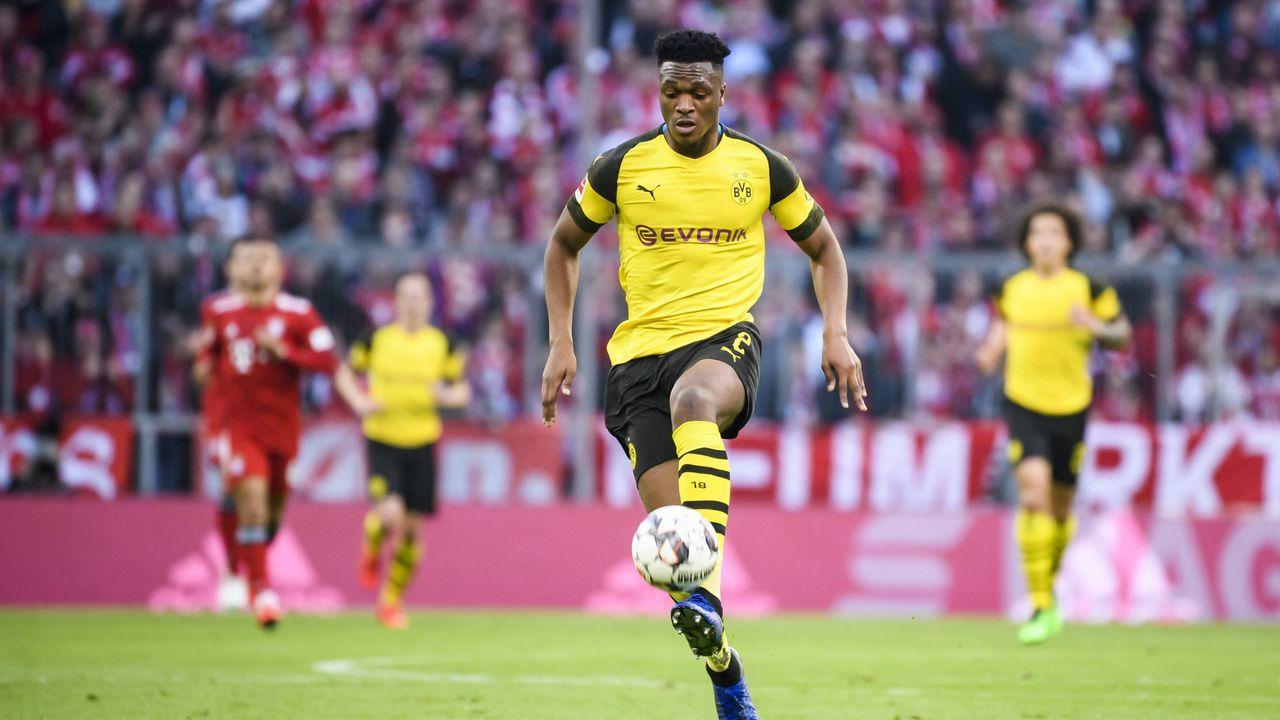 Dan-Axel Zagadou (Borussia Dortmund) - Bildquelle: imago images / Jan Huebner