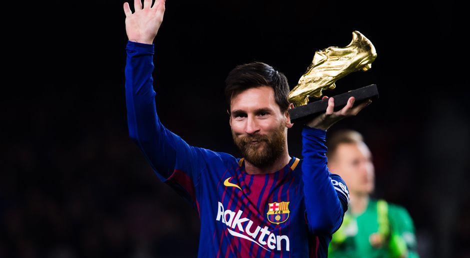 Platz 15: Lionel Messi - Bildquelle: 2017 Getty Images