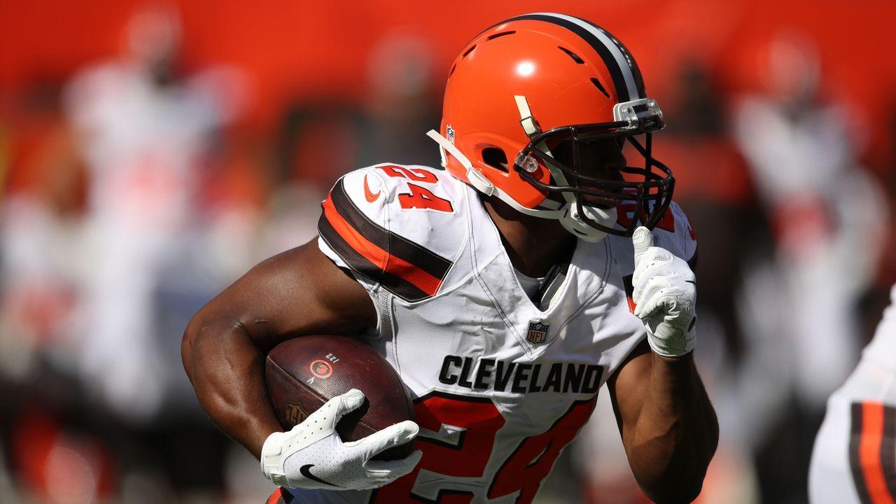 Nick Chubb (Running Back, Cleveland Browns) - Bildquelle: 2018 Getty Images