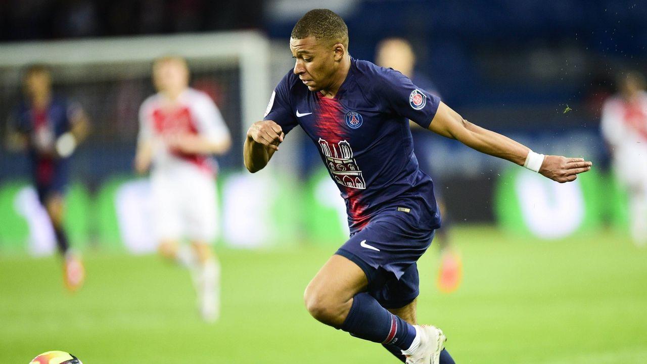 8. Kylian Mbappe (Paris St. Germain) - Bildquelle: 2019 imago