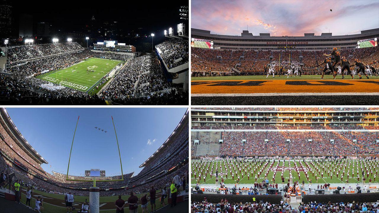 Das sind die ältesten College-Stadien im American Football - Bildquelle: Getty Images, imago