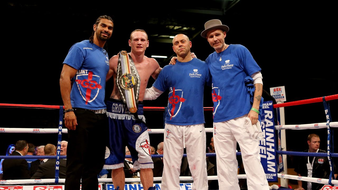 George Groves mit David Haye - Bildquelle: Getty Images