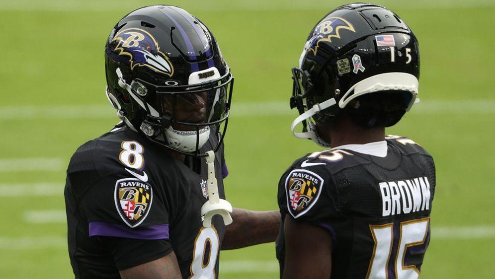 Die Baltimore Ravens sind von Corona geplagt - Bildquelle: 2020 Getty Images