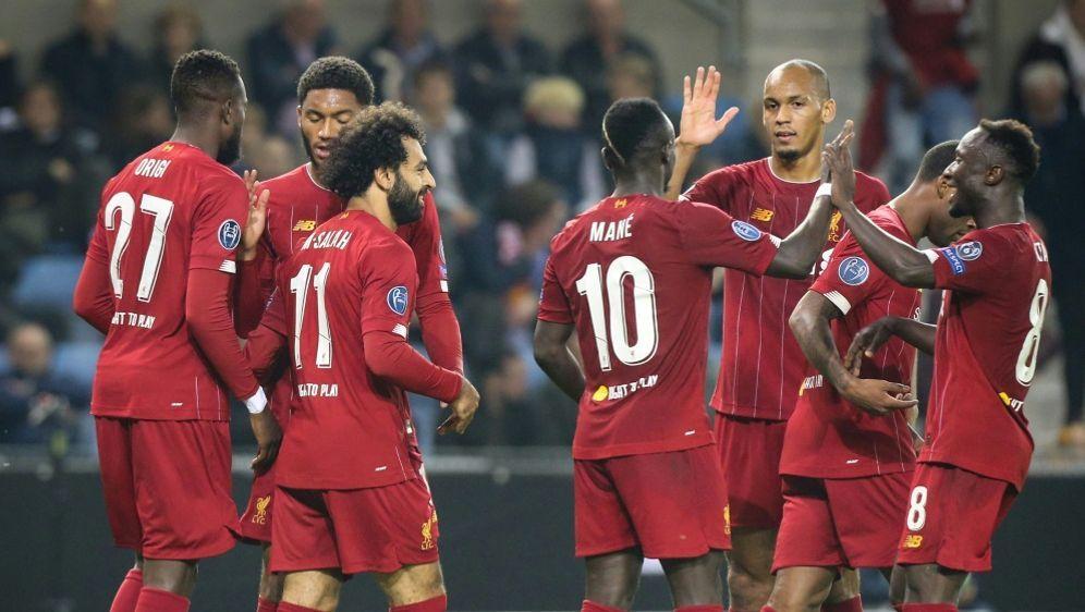Souveräner Auftritt von Titelverteidiger FC Liverpool - Bildquelle: AFPSIDFrançois WALSCHAERTS