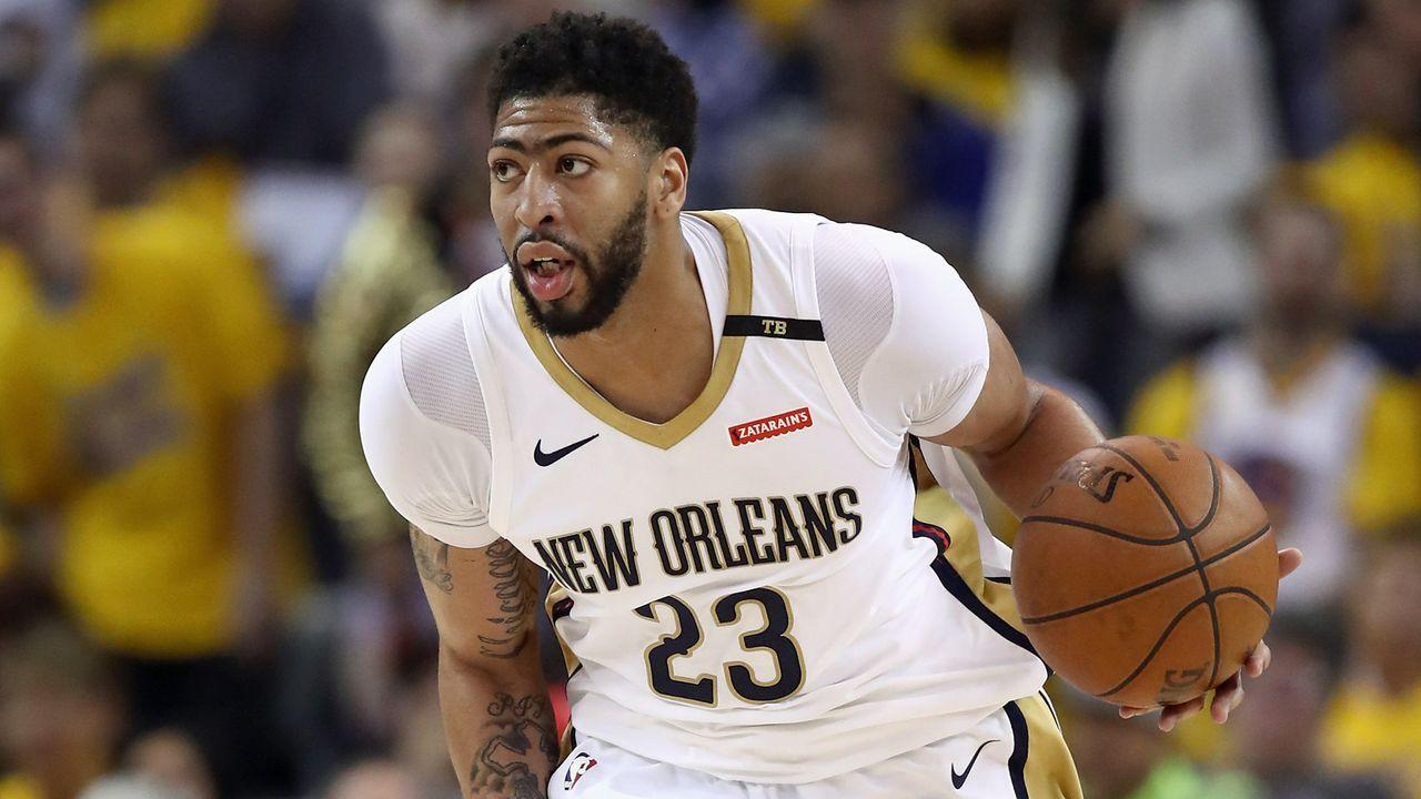 Platz 3: Anthony Davis, New Orleans  - Bildquelle: 2018 Getty Images