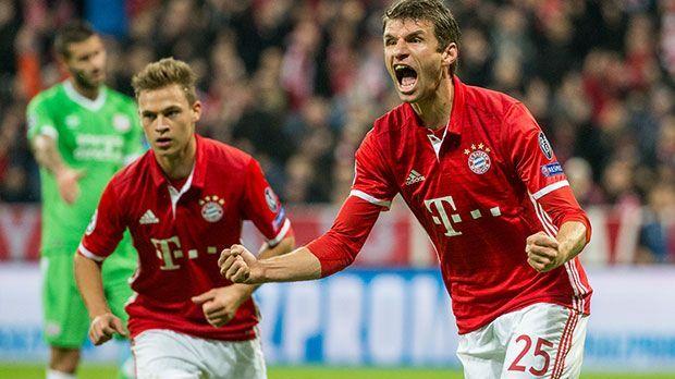 Thomas Müller (Deutschland, FC Bayern München) - Bildquelle: 2016 Getty Images