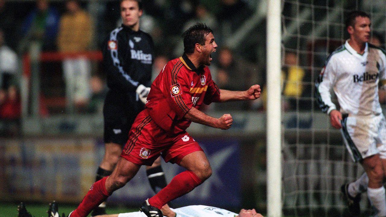 Platz 5 (geteilt): Borussia Mönchengladbach - Bayer Leverkusen 2:8 (30.10.1998) - Bildquelle: Imago