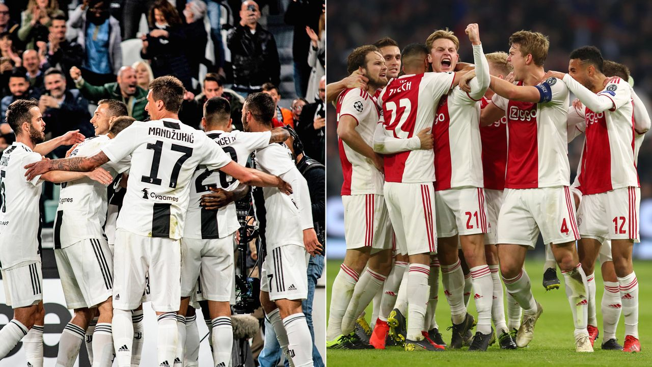 Juventus Turin vs. Ajax Amsterdam im Head-to-Head - Bildquelle: imago / Getty
