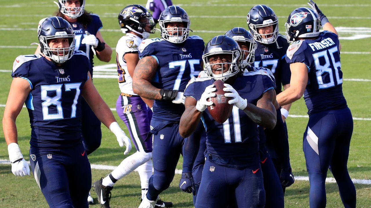 Platz 10: Tennessee Titans  - Bildquelle: 2021 Getty Images