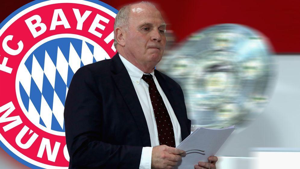Präsident Uli Hoeneß wird offenbar beim FC Bayern aufhören - Bildquelle: Getty