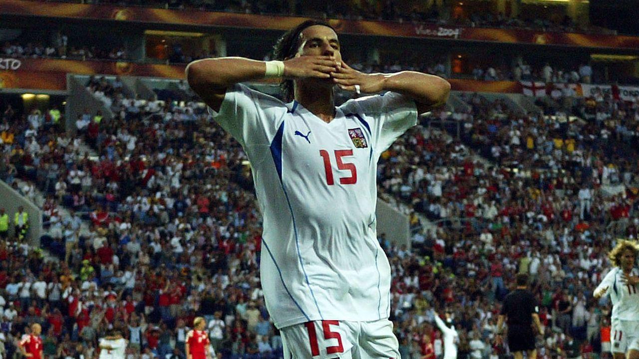 EM 2004: Milan Baros (Tschechien) - Bildquelle: Getty Images