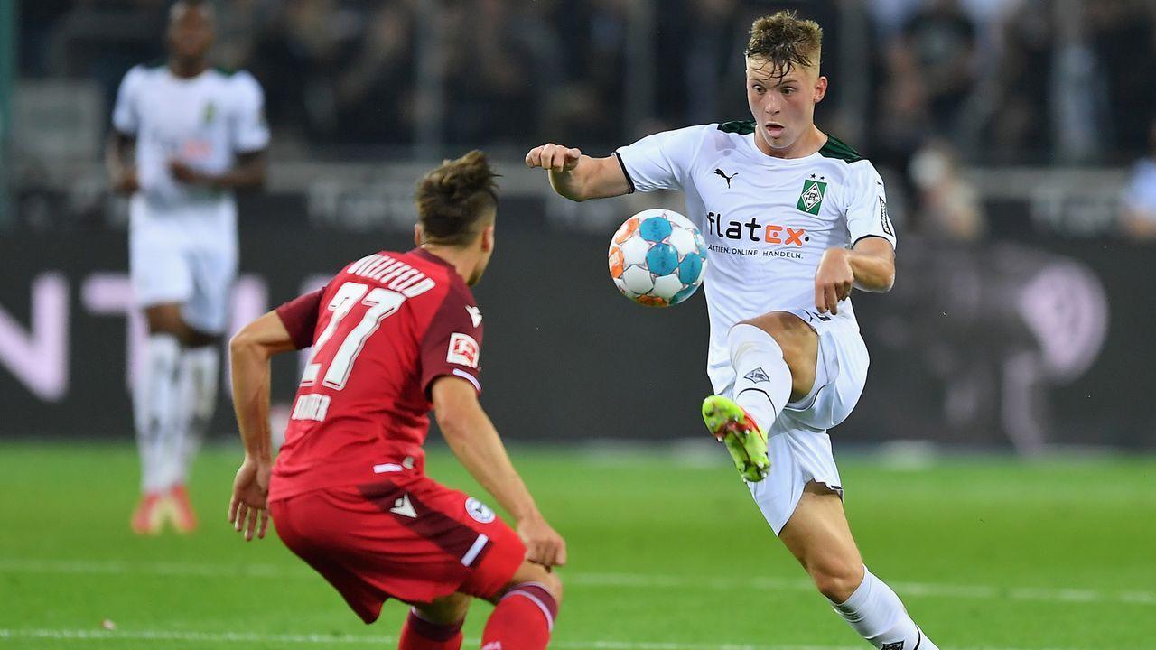 Luca Netz (Borussia Mönchengladbach) - Bildquelle: 2021 Getty Images