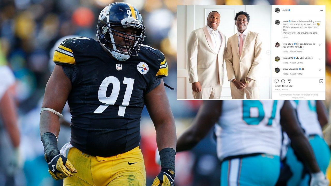 Fahrerflucht! NFL-Star trauert um getöteten Bruder - Bildquelle: Getty/instagram.com/stuitt/
