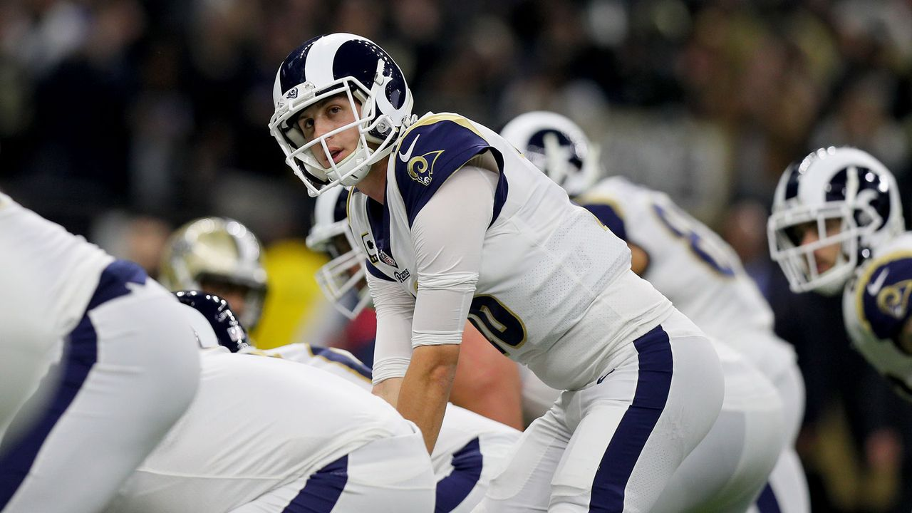 Jared Goff (Los Angeles Rams) - Bildquelle: 2019 Getty Images