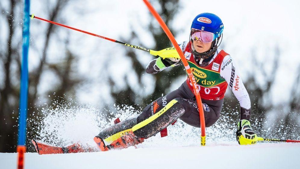 Slalom: Mikaela Shiffrin feiert 56. Sieg im Weltcup - Bildquelle: AFPSIDJure Makovec