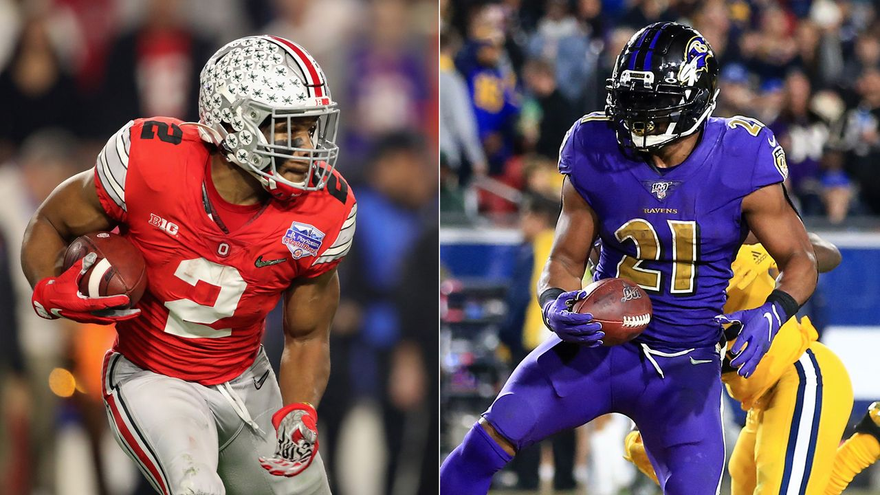 Mark Ingram vs. J.K. Dobbins (Baltimore Ravens) - Bildquelle: getty