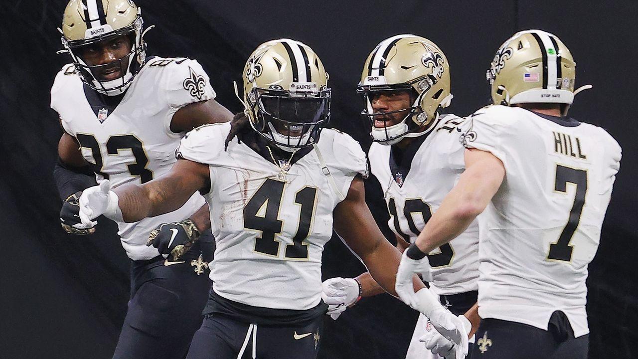 Platz 4: New Orleans Saints  - Bildquelle: 2020 Getty Images