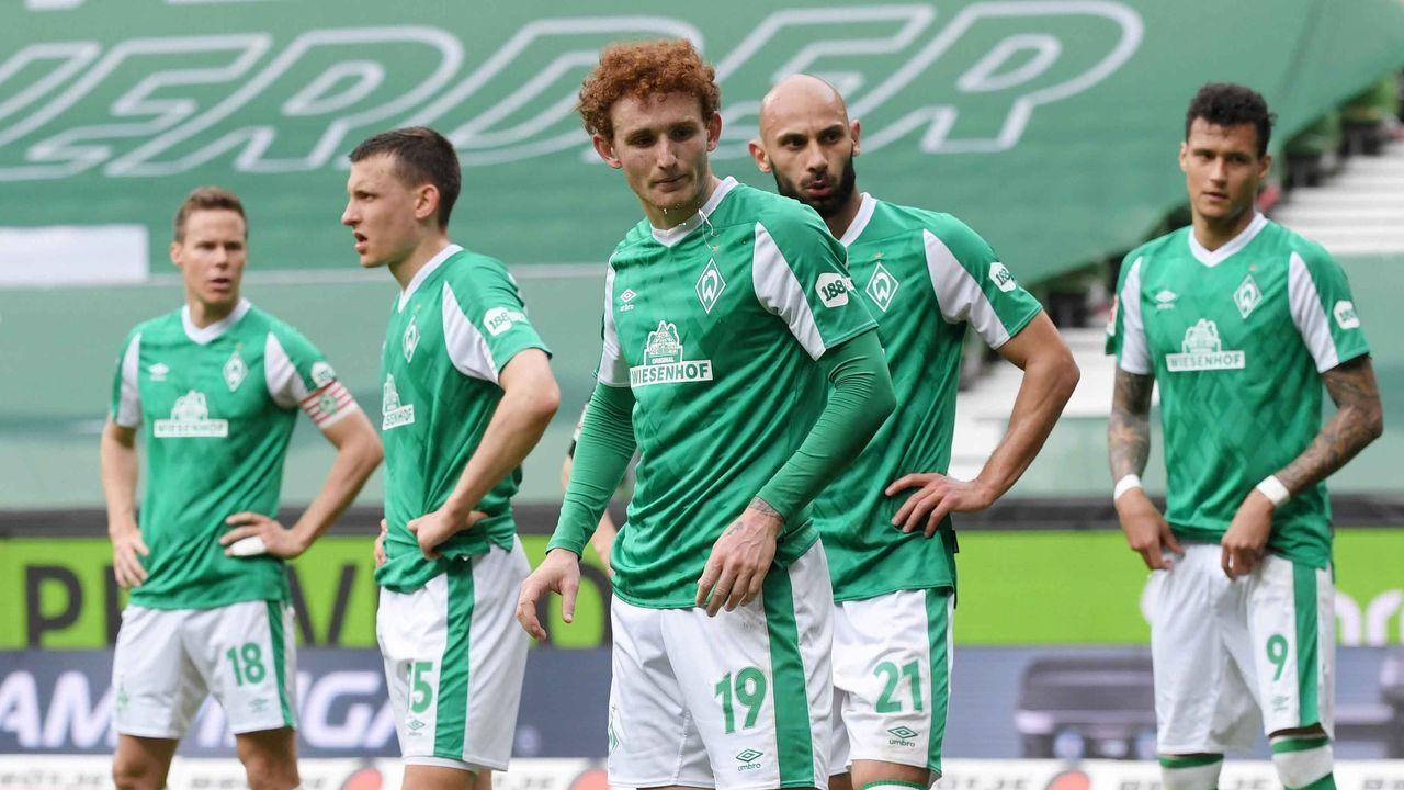 Absteiger: SV Werder Bremen (5,8 Millionen Euro) - Bildquelle: imago images/Team 2