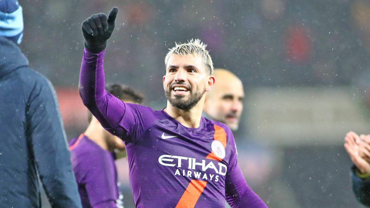 Sergio Agüero (Manchester City) - Bildquelle: imago