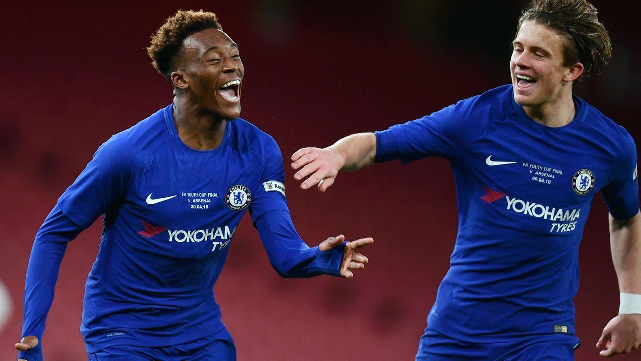 Nachwuchs-Meister mit Chelsea - Bildquelle: 2018 Getty Images