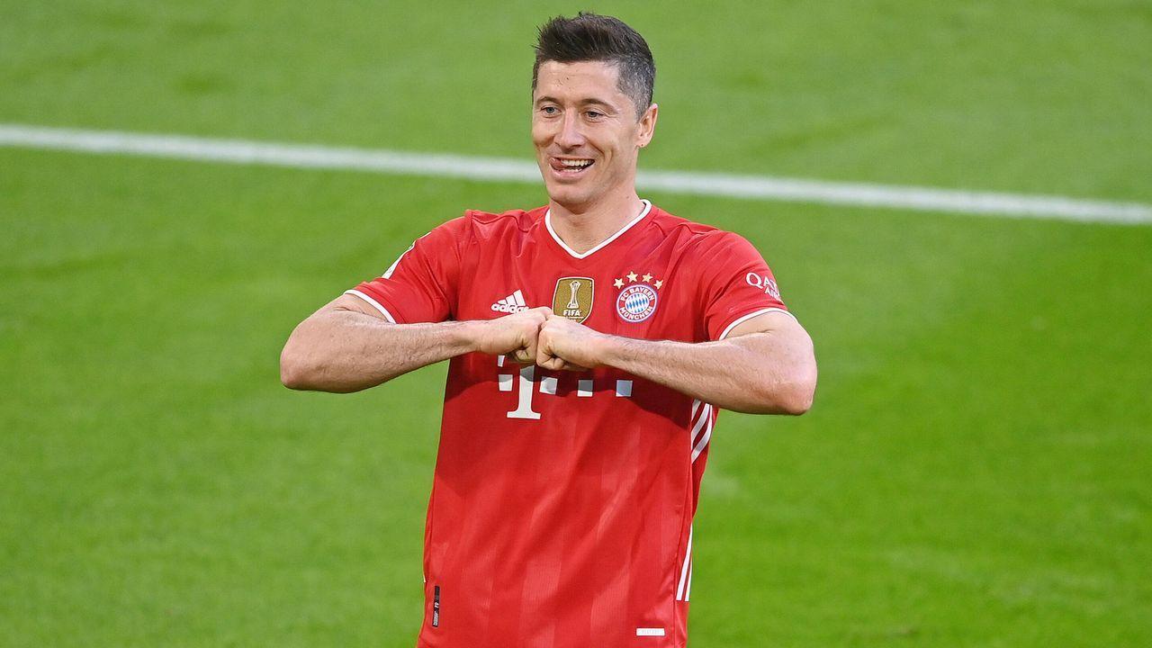 Knackt Lewandowski den Tor-Rekord? - Bildquelle: imago images/Sven Simon