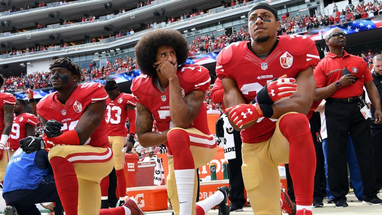 """NFL setzte 2018 """"Hymnen-Regel"""" durch - Bildquelle: 2016 Getty Images"""