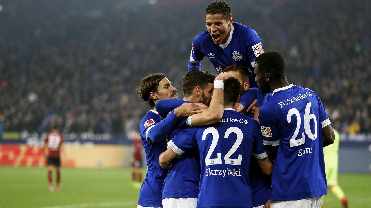 Platz 4 - FC Schalke 04 - Bildquelle: 2018 Getty Images