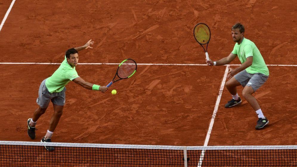 Krawietz/Mies schieden im Viertelfinale von Hamburg aus - Bildquelle: AFPSIDPHILIPPE LOPEZ