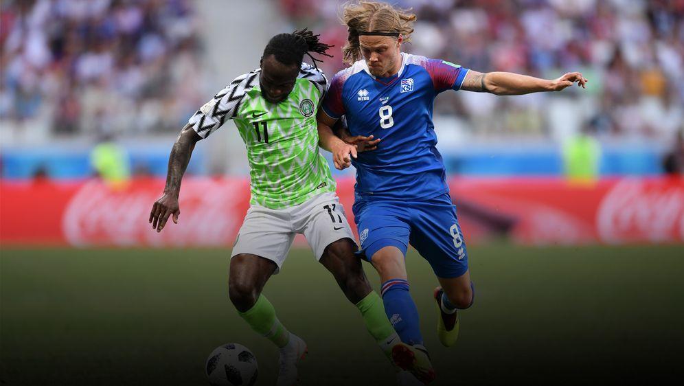 Sieg Gegen Island Musa Meldet Nigeria Bei Wm An