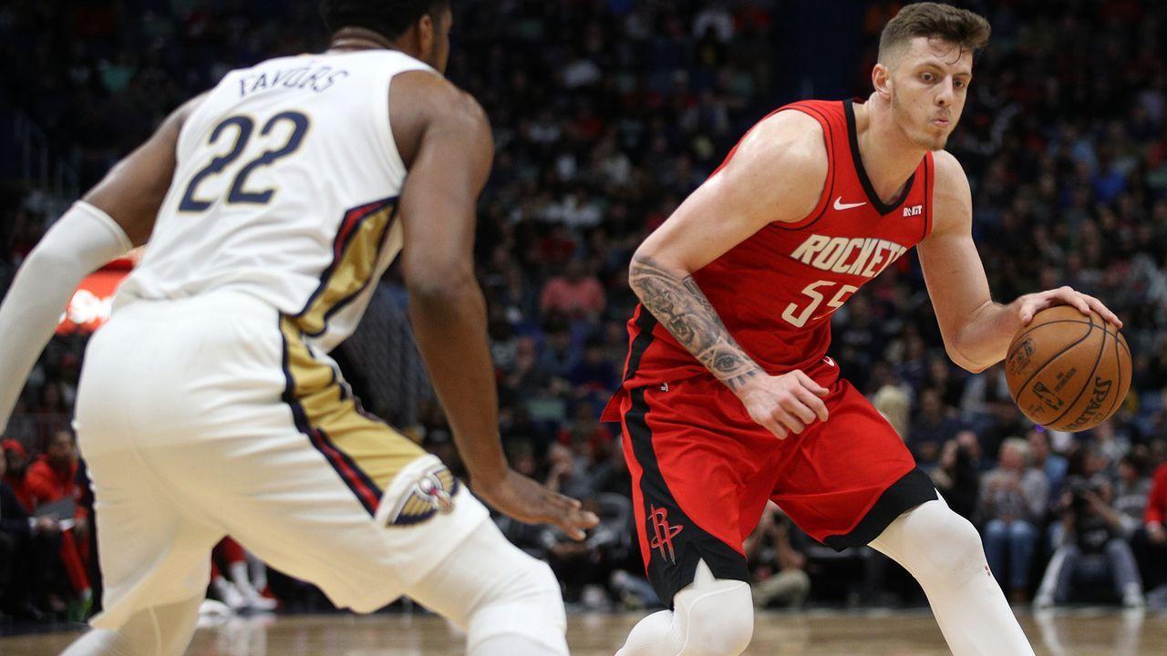 Isaiah Hartenstein, Center, Houston Rockets  - Bildquelle: 2019 Getty Images