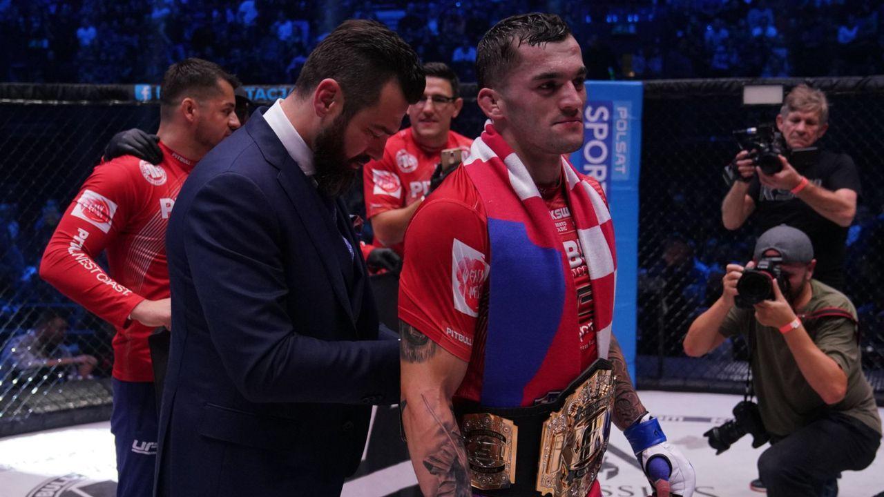 Das sind die KSW-Champions - Bildquelle: KSW MMA