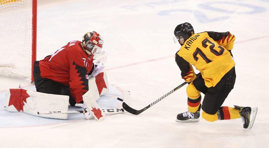 Penalty: Dominik Kahun - Bildquelle: 2018 Getty Images