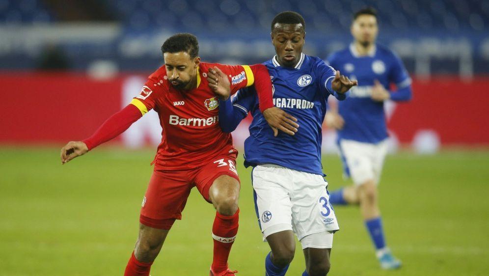 Hamza Mendyl (r.) wird an Gaziantep FK verliehen - Bildquelle: AFPPOOLSIDLEON KUEGELER