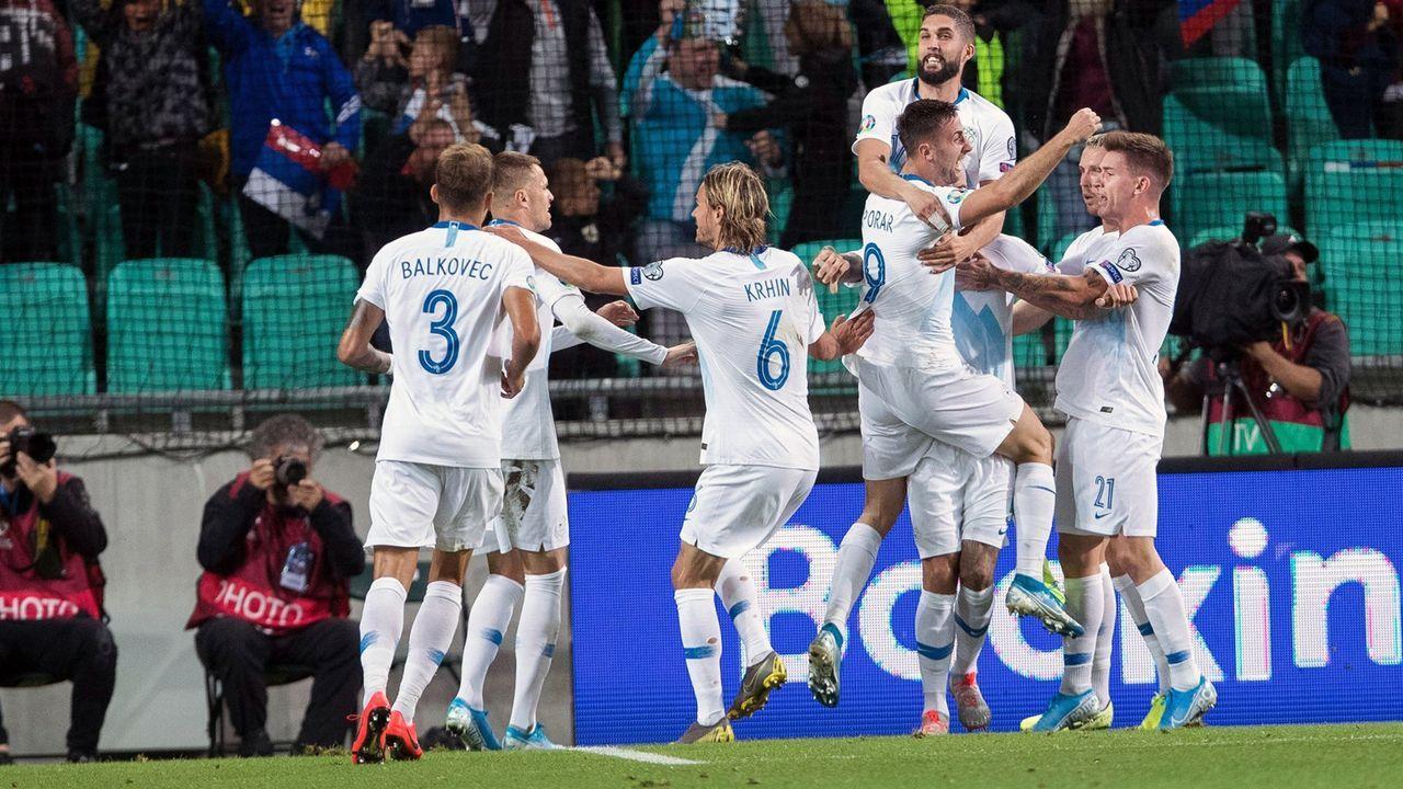 Slowenien (Platz 2 in Gruppe G mit elf Punkten) - Bildquelle: imago images / East News